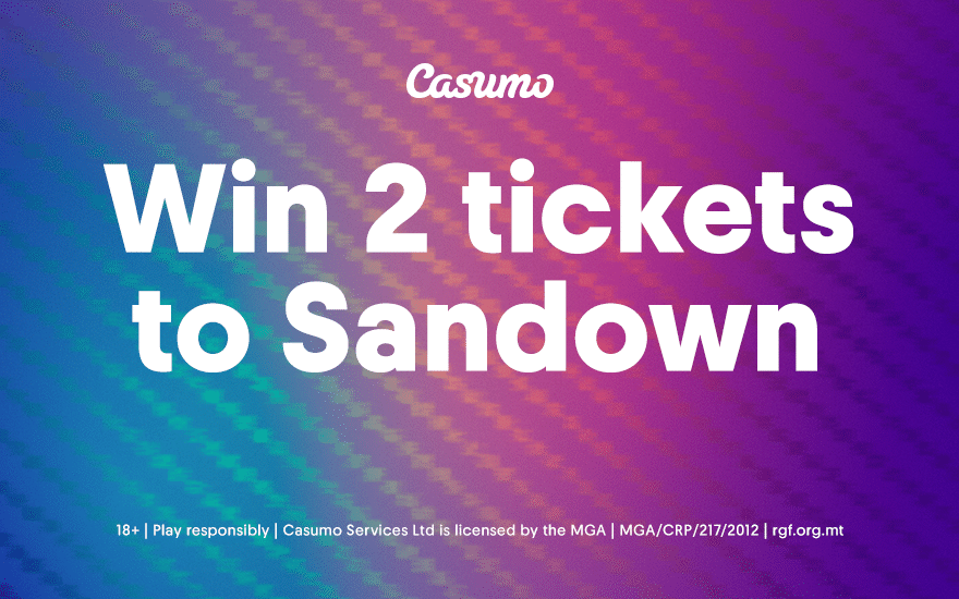 Win 2 tickets to Sandown and see Craig David Live