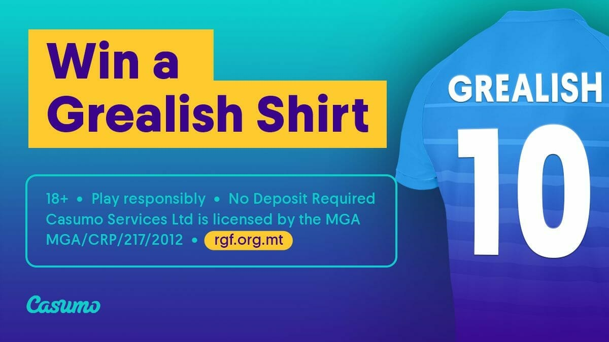 Win a Jack Grealish shirt