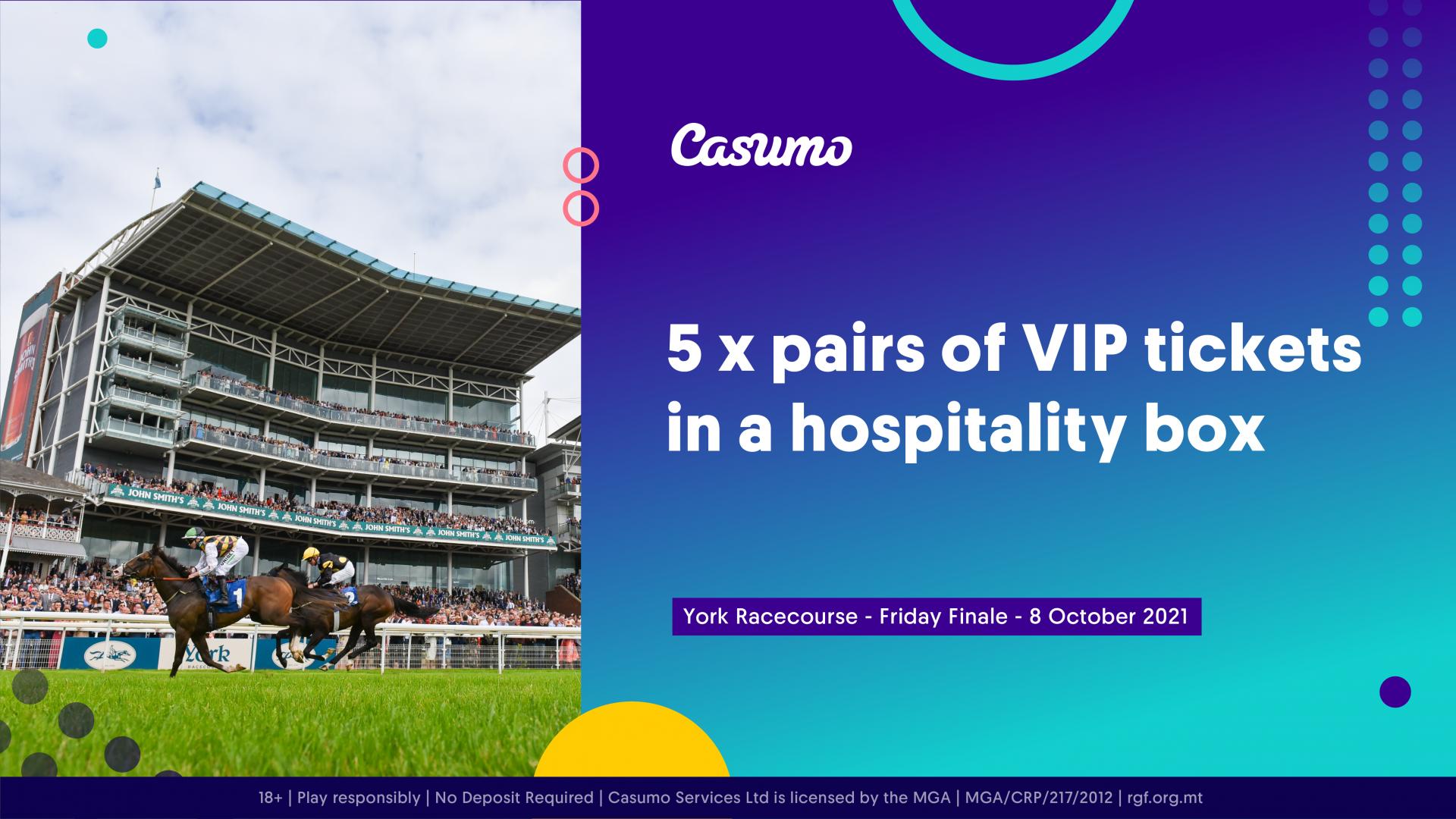 Win VIP tickets to York