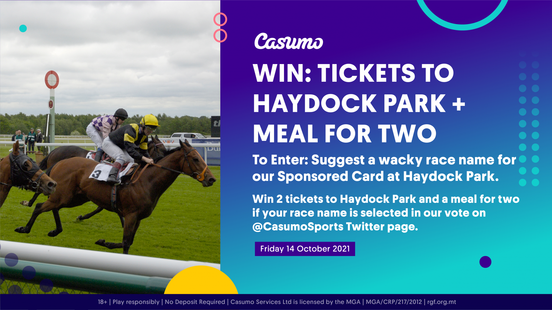 Name a race at Haydock