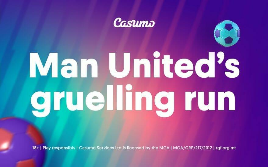 Manchester United's gruelling run